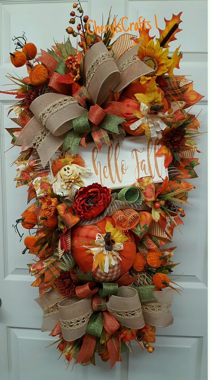 cherylscrafts1.etsy.com Fall door/wall candy!