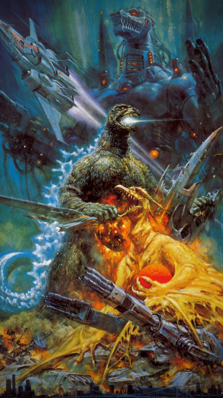 Godzilla vs. Mechagodzilla II (1993) Phone Wallpaper   Moviemania