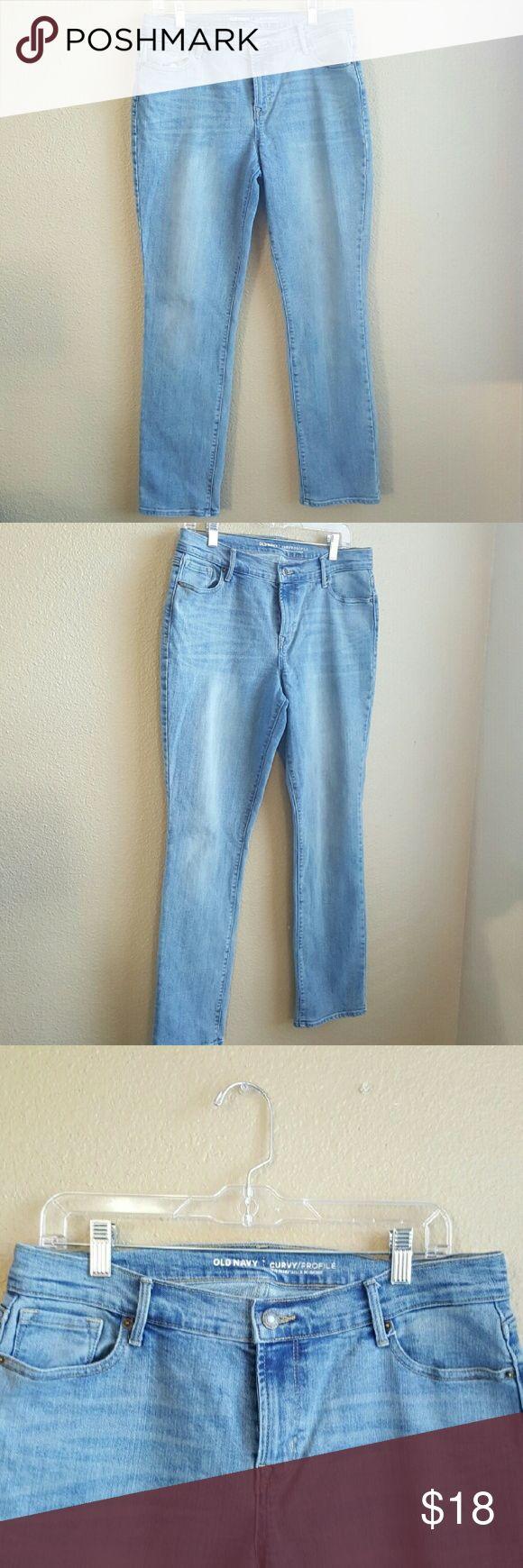 Selling this Old Navy Curvy Jeans on Poshmark! My username is: kikki_smee. #shopmycloset #poshmark #fashion #shopping #style #forsale #Old Navy #Denim