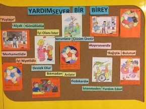 değerler eğitimi panosu yardımlaşma ile ilgili görsel sonucu