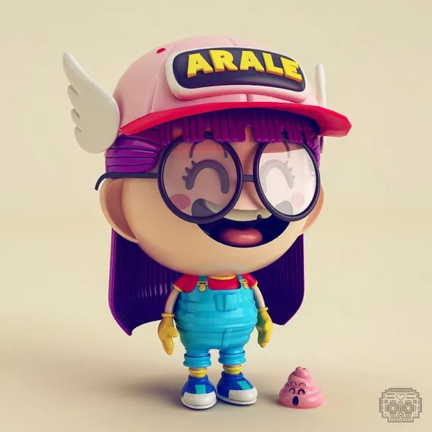 10 proyectos para celebrar el Día del Orgullo Geek | Domestika 3d Model Character, Game Character Design, Character Art, Character Illustration, Graphic Design Illustration, Modelos 3d, 3d Fantasy, Cartoon Design, 3d Cartoon