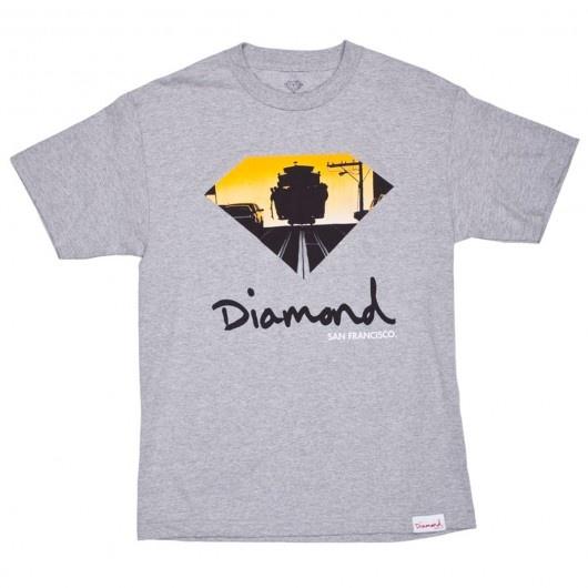 Diamond Supply Co cable car San Francisco tee-shirt white - heather grey 49€ #diamond #diamondsupply #diamondsupplyco #sanfrancisco #diamondlife #getyourshineon #worldclassskateboarding #skateboarding #tee #tees #tshirt #tshirts #teeshirt #teeshirts #skate #skateboard #skateboarding #streetshop #skateshop @playskateshop