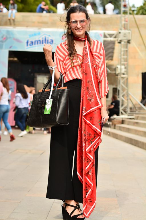 Street style Colombiamoda 2017. Foto: revista Caras
