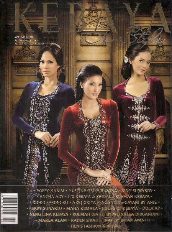 kebaya in style -cover.  KEBAYA EKSKLUSIF www.venzakebaya.net https://www.facebook.com/venzakebaya?ref=hl