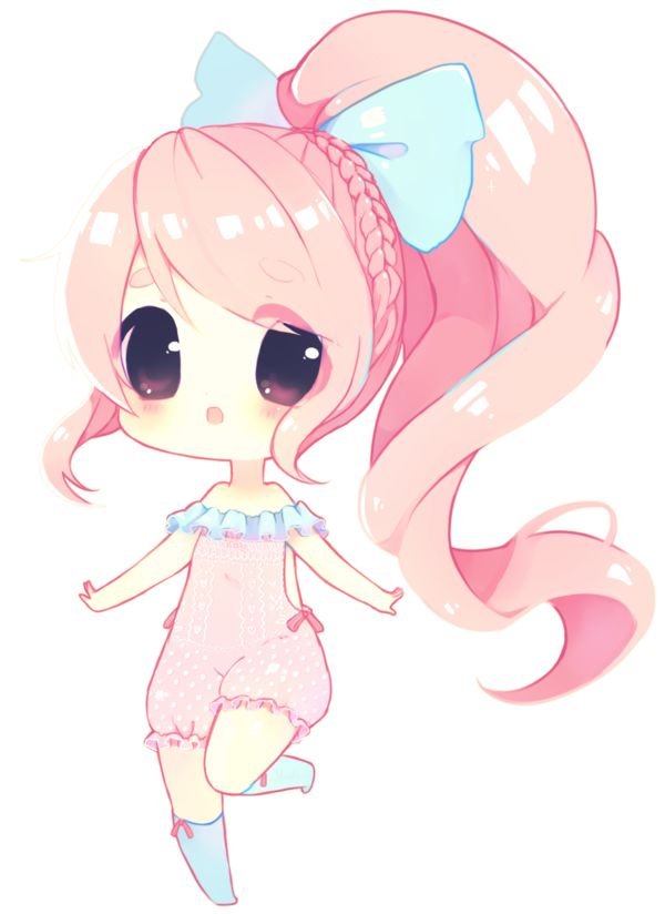 Chibi Anime Cat Drawing Bamoh bby by Yamio.dev...