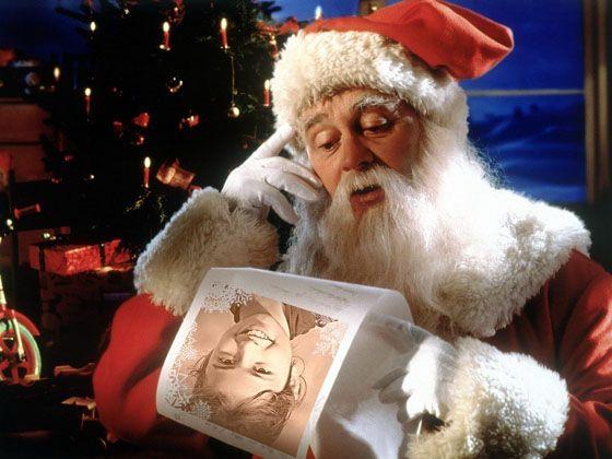 Fotoefectos originales para Navidad gratuitos con Santa Claus.
