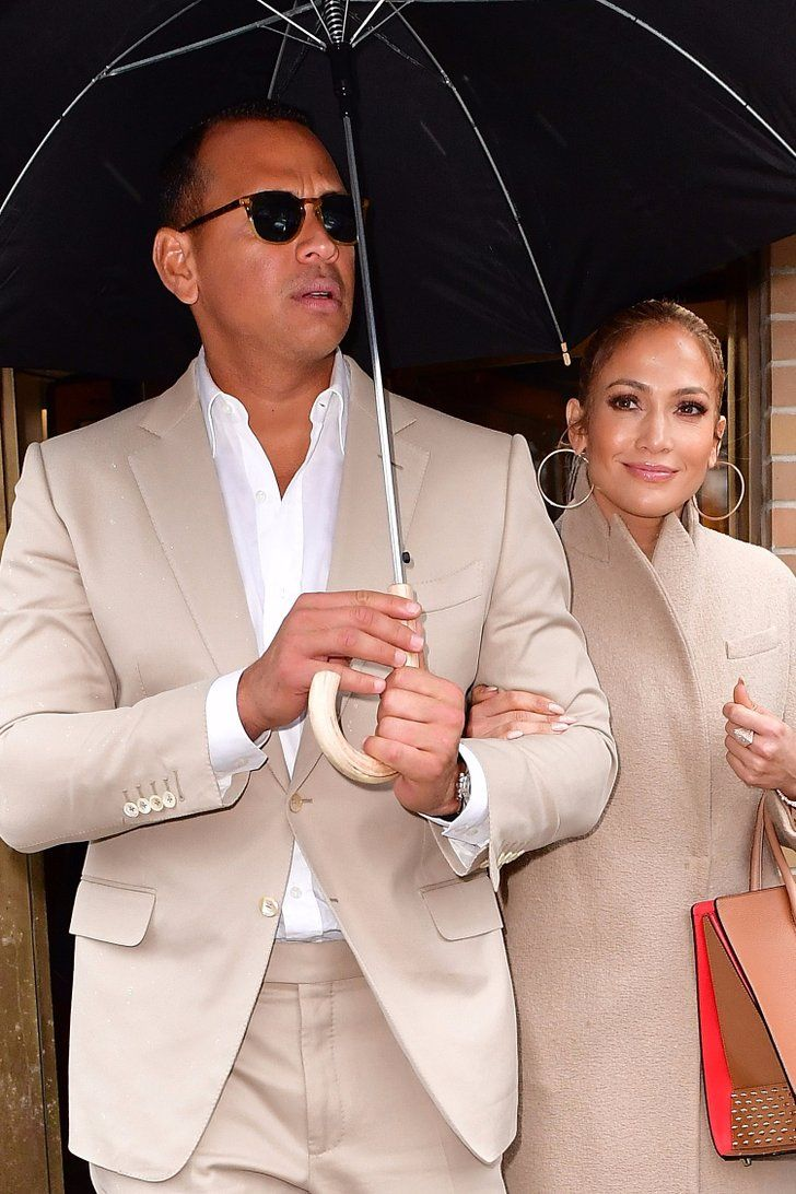 Jennifer Lopez and Alex Rodriguez Are Already Matching Their Outfits