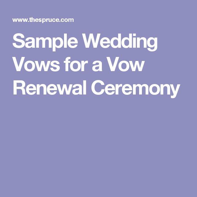 Wedding Vows Samples: Best 25+ Sample Wedding Vows Ideas On Pinterest