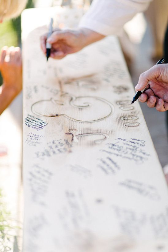 guestbook ideas benches rustic chic dreams weddings blog