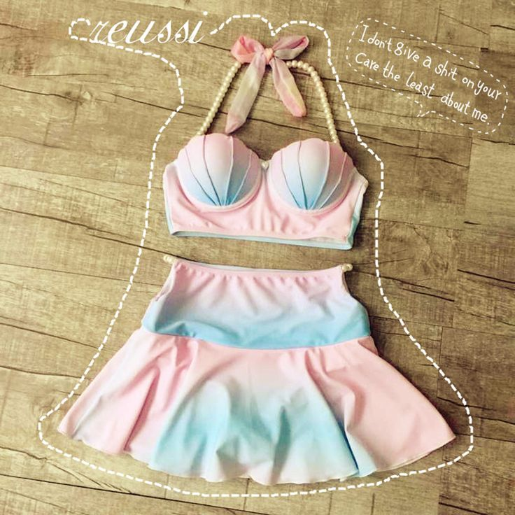 Find More Bikinis Set Information about 2016 women Sweet Cameo Shell Bikini Pastel Rainbow Mermaid Shell Swimsuit Beach Swimwear Strappy Bra Swimsuit  maillot de bain,High Quality bras for large breasted women,China swimsuit skirt Suppliers, Cheap bra size 34 c from Pocket Girl on Aliexpress.com