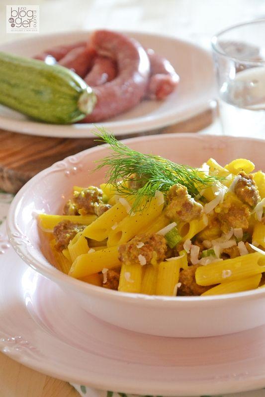 pasta risottata salsiccia zucchine e zafferano (1)
