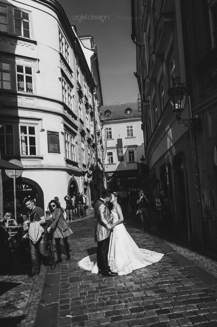 The Kiss by Raghunath Rajaram on 500px  Candid on the streets of Prague