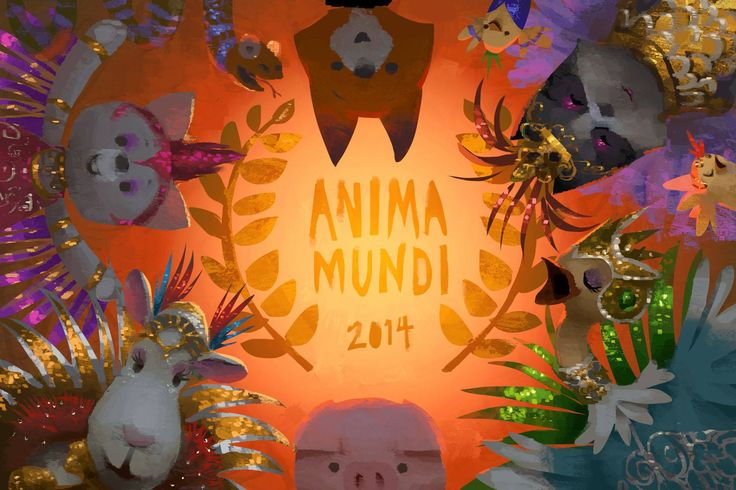 Pig and Fox are excited to party in South America! The Dam Keeper has been invited to screen in Brazil's 2014 international animation film festival Anima Mundi! Watch this space for announcements of screening times. Illustration by Robert Kondo.   http://www.animamundi.com.br/2014/en/festival-2/selecionados/