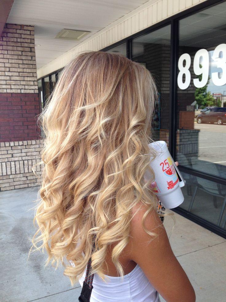 Love my new hair! Balayage blonde
