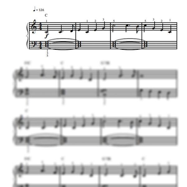 Free Easy Piano Sheet Music Score Scarborough Fair: 64 Best Easy Piano Sheet Music For Beginners / Piano