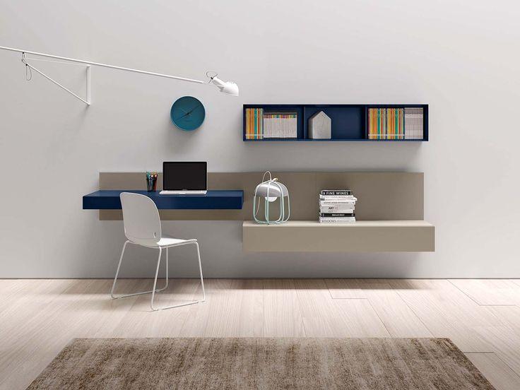 PEOPLE P408 | ALA scrittoio | INTRO sedia | PEOPLE composition | ALA desk | INTRO chair | PIANCA | www.pianca.com