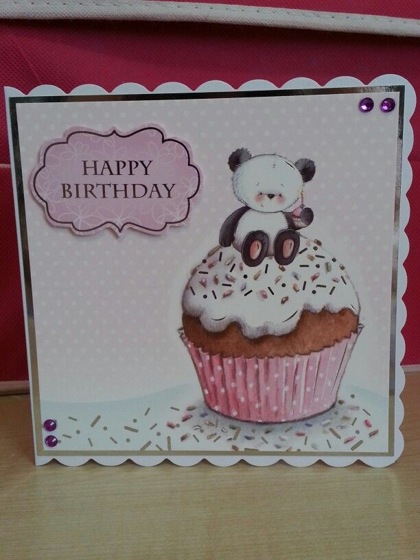 Party paws 6x6 card