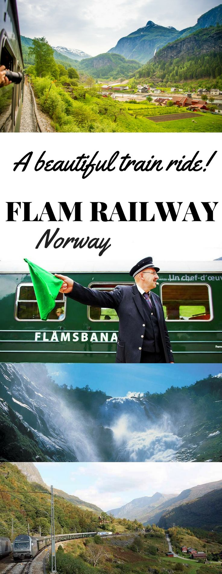 """The Flam Railway train was about to climb at an almost impossibly steep angle, from fjord shores up to Myrdal, a station at the top of craggy mountains above. We could feel the excitement ripple through the train! One of Norway's top tourist attractions, the ride has been named one of the top 10 train journeys in Europe by National Geographic Traveler Magazine. It was even ranked No. 1 in Lonely Planet Traveller's list of """"the world's most incredible train journeys of 2014."""" Read our…"""