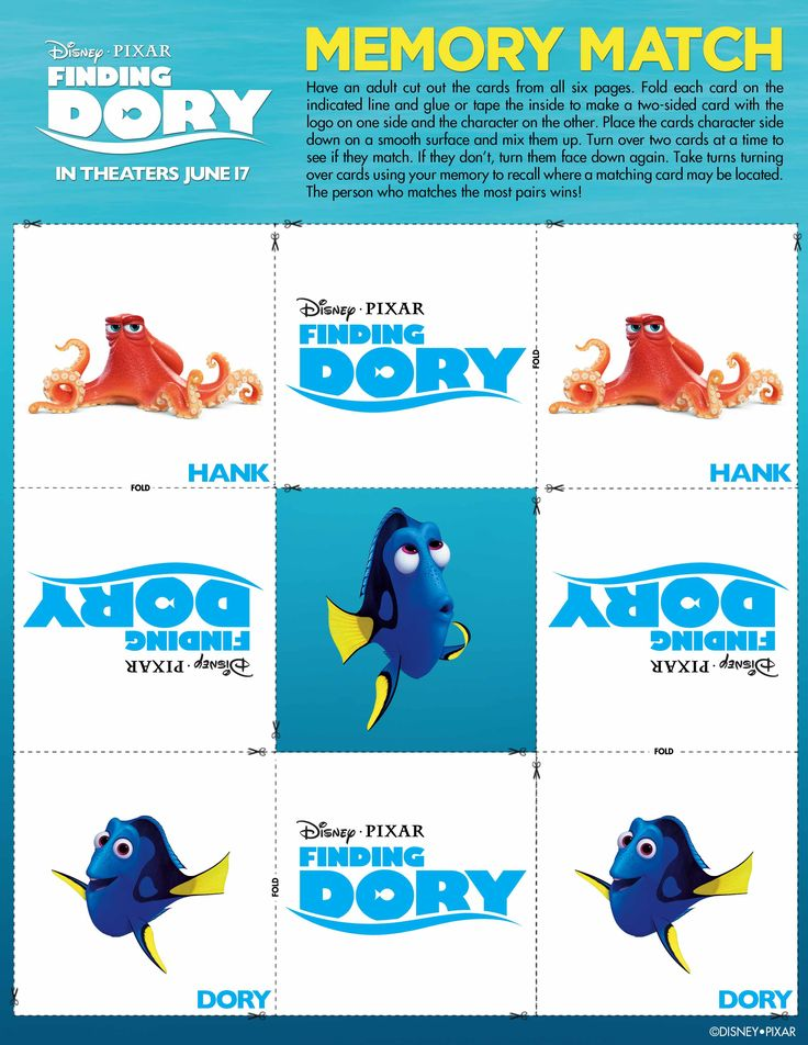 Disney/Pixar's Finding Dory swims into theatres June 17!