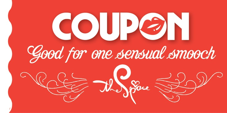 Kissing Coupon #TheSpace #Vday