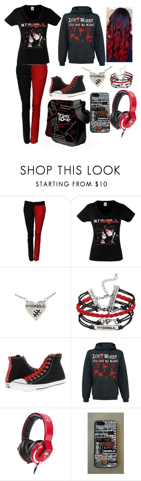 """""""You Know What They Do To GuYs Like Us In Prison"""" by lyrical-life ❤ liked on Polyvore featuring Converse and Skullcandy"""