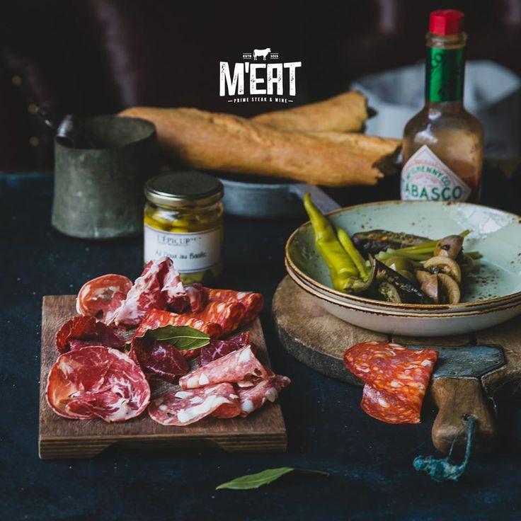 Sausage platter #meatrestaurant #steakhouse #steaks #azerbaijan #baku #restaurants #food #cuisine #beef #veal #snacks #sausage #sausageplatter