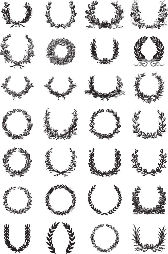 1 Venki Wreath ornate classic designs