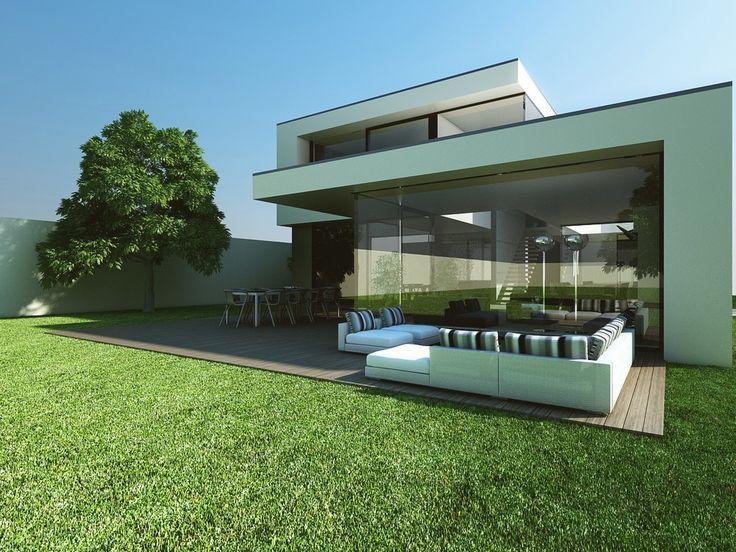 25 beste idee n over moderne architectuur woning op for Moderne laagbouw woningen