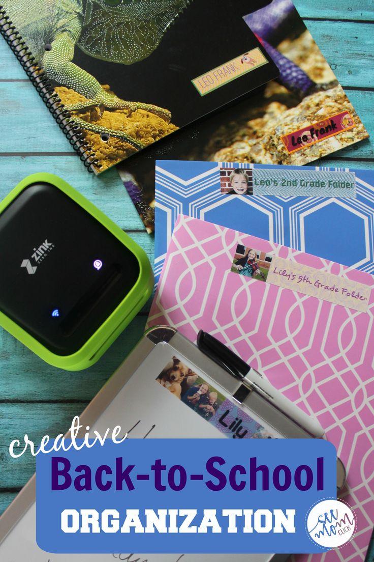 Creative Back-to-School Organization