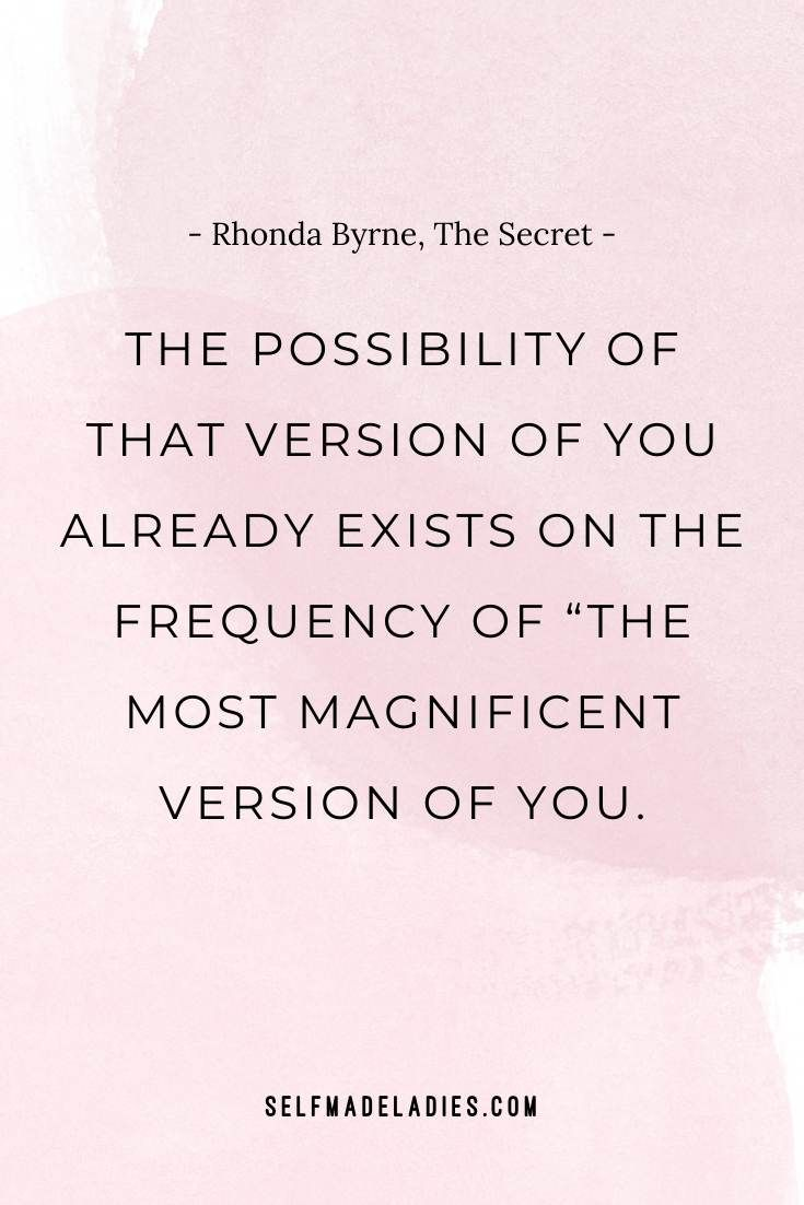 10 Most Inspiring Law Of Attraction Quotes From The Secret Selfmadeladies Manifesting Blog Community By Mia Fox Secret Quotes Law Of Attraction Quotes Rap Lyrics Quotes
