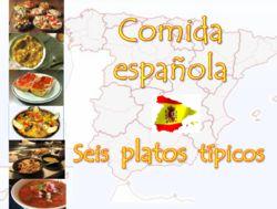 Comida española : seis platos típicos