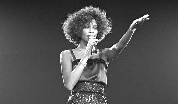 Whitney Houston in 1988.
