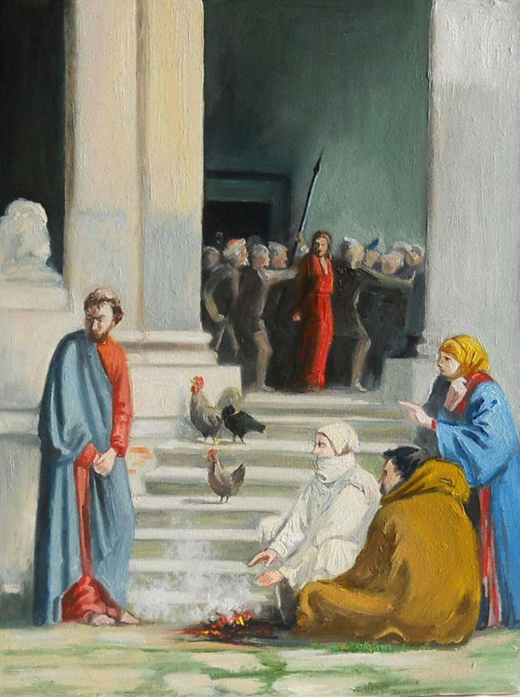 Tradarea Lui Isus. Tablou de Emanuel Tancau