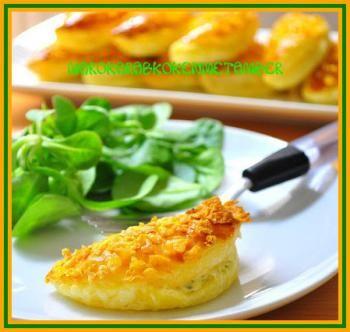 Krokante kaasbroodjes
