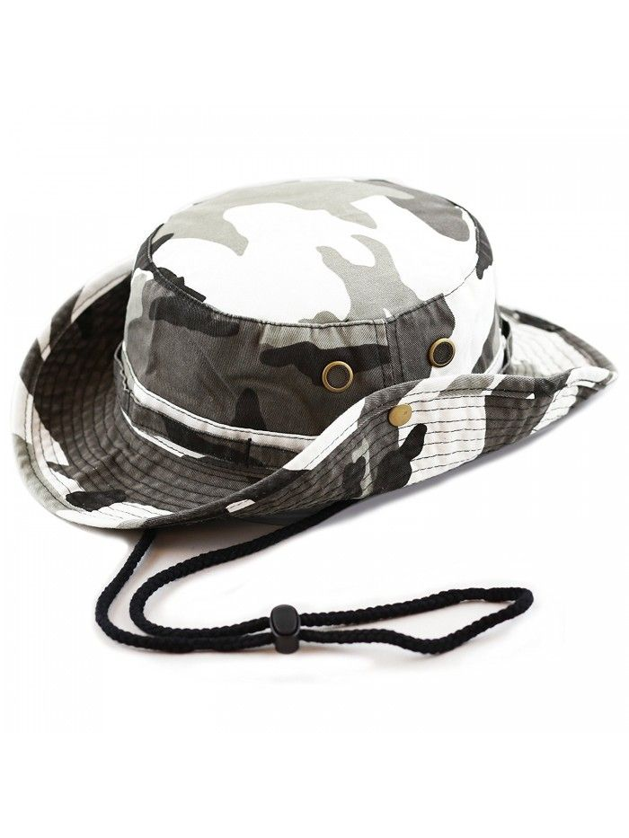 300N1510 Cotton Wide Brim Foldable Double-Sided Outdoor boonie Bucket Hat -  City Camo - CZ12OI75KLR  525682a8ea