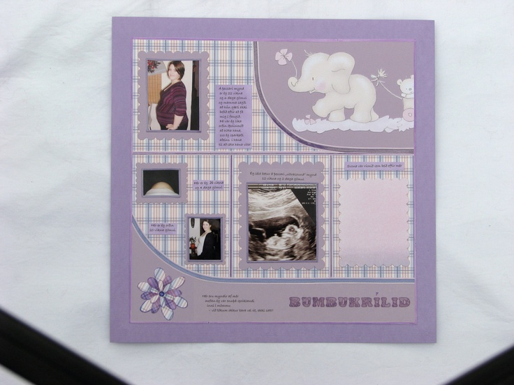 Baby Scrapbook, page 1