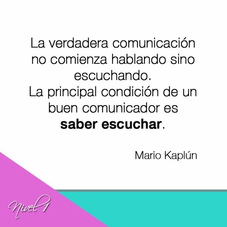 La verdadera comunicaci n no comienza hablando sino for Espejo que no invierte la imagen