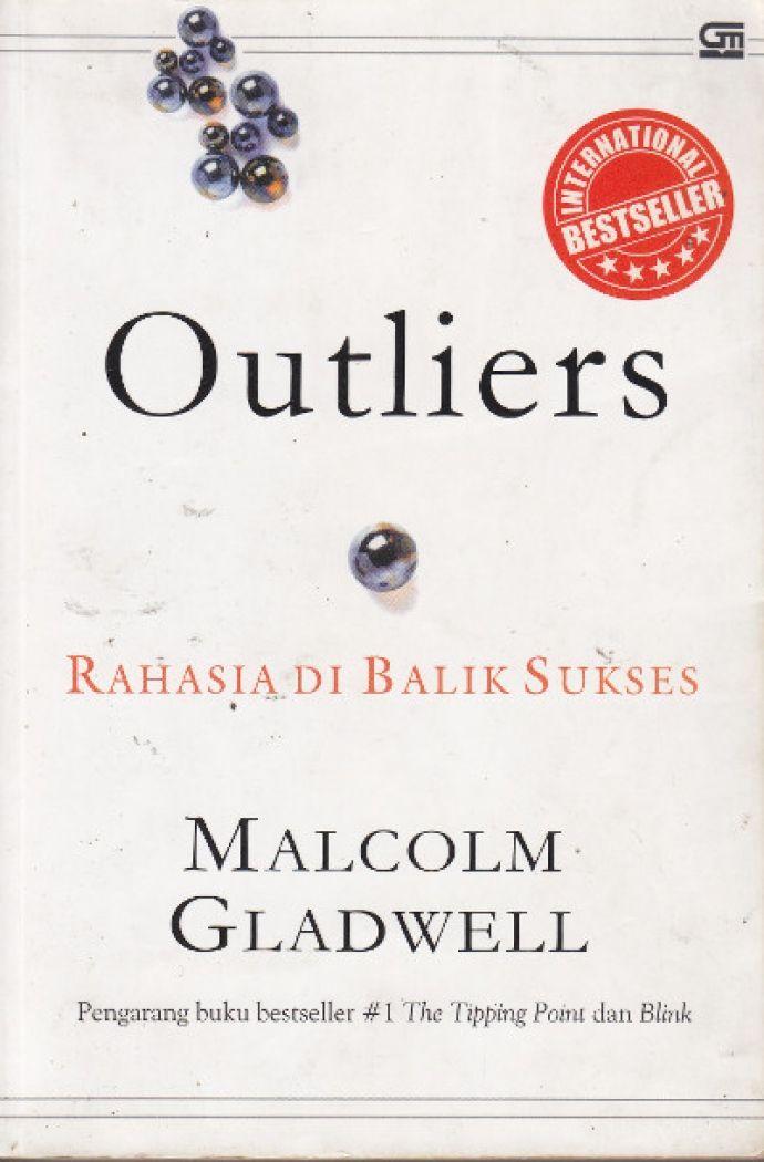 """Outliers"" Malcolm Gladwell #buku #sewabuku #perpustakaan"