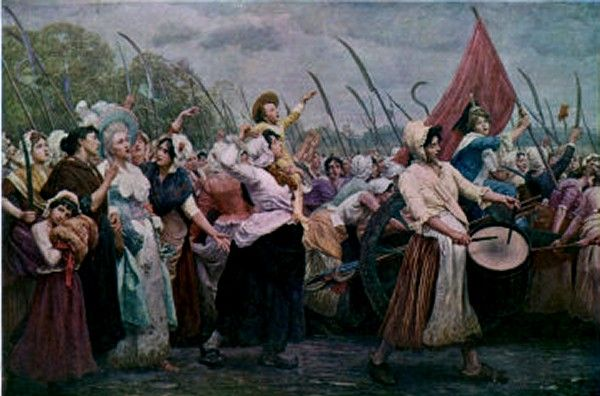 the march to versailles The women's march on versailles began in a parisian marketplace on the fifth of october in the year 1789 the low amounts of bread and high prices of it caused anger among the women in the marketplace.