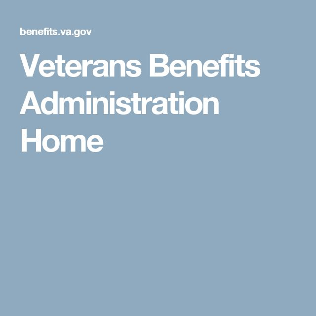 Veterans Benefits Administration Home