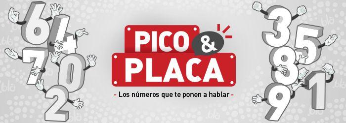 Ingresa y descubre cuales son los números Pico y Placa de hoy. Recarga tu móvil Claro y recibe gratis carga adicional para que hables a Todo Destino.