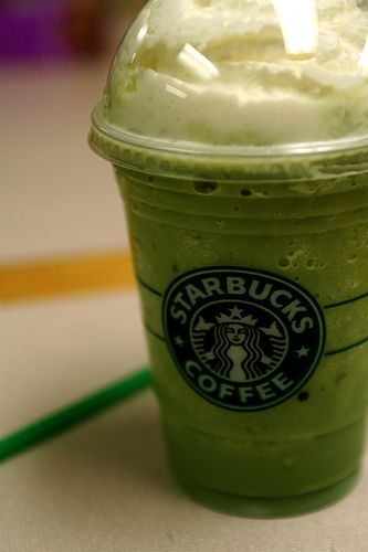 DIY Green Tea Frappuccino (just like Starbucks)
