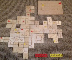 Wooden Carcassonne board game tutorial