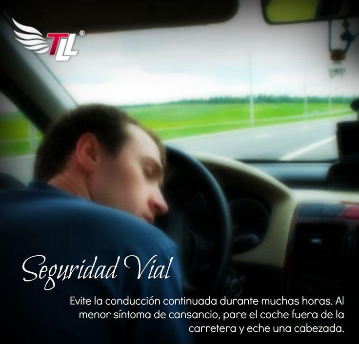 Evite la #conducción continuada durante muchas horas. Deténgase cada tres horas sacando el #carro de la carretera.