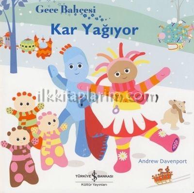 Gece Bahçesi - Kar Yağıyor Kitaplar - 0-3 Yaş Çocuk Kitapları İlkkitaplarim Market - çocuk kitapları,masal kitapları,çocuk gelişim