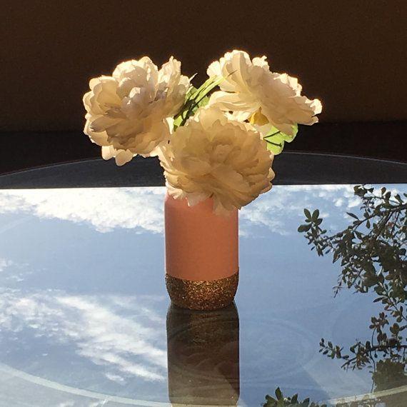 Pink & Gold Jar by SassyBuddhaBits on Etsy