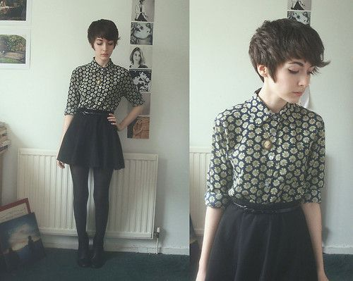 hipster pixie cut tumblr - Google Search                                                                                                                                                     More