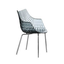 Meridiana fixed easychair | Visitors chairs / Side chairs | Driade