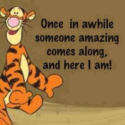 Once in a while someone amazing comes along & here I am ...
