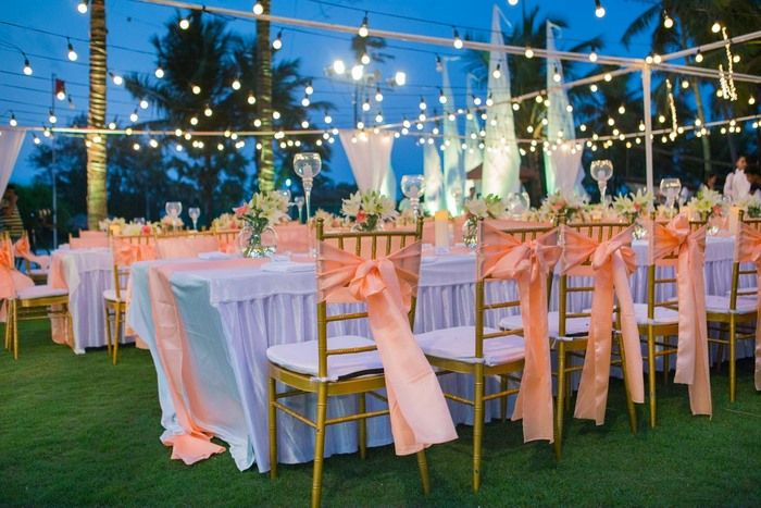 Evening Wedding Lighting Ideas Which Look Super Glam!